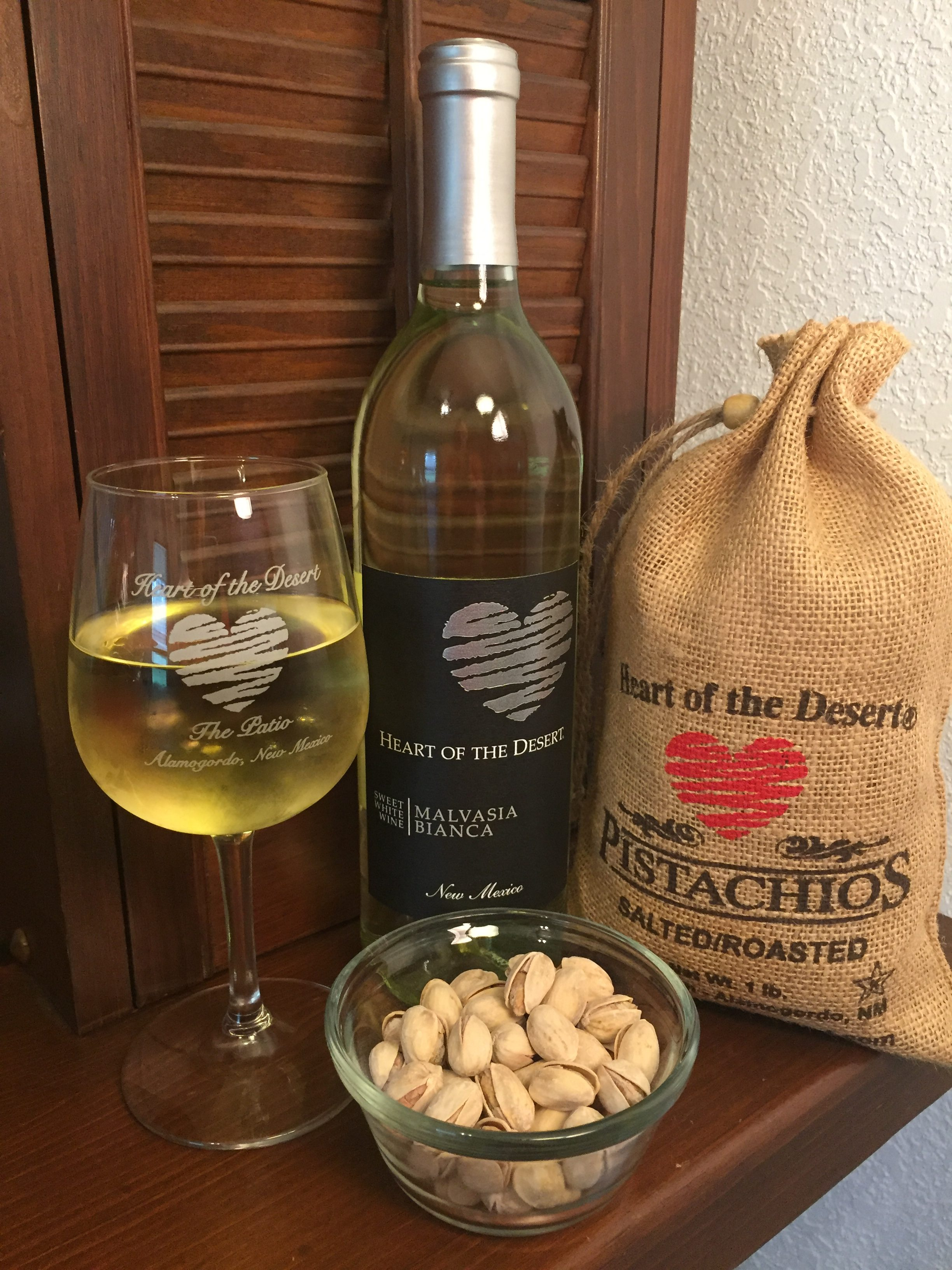 wine and nut pairings from Heart of the Desert Pistachios