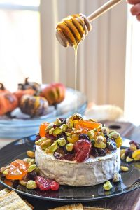 healthy fall snacks with pistachios