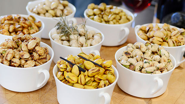 health snacks and pistachios from heart of the desert